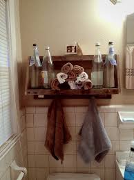 Pallet Floating Shelves by 23 Best Country Bathroom Images On Pinterest Projects Pallet