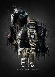 Rainbow Six Siege Operators In Operator Ela From Rainbow Six Siege Posters By Traxim Redbubble