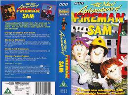 adventures fireman sam vhs 1994