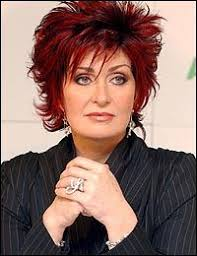 sharon osbournes haircolor the short red brown sharon osbourne hairstyles popular sharon