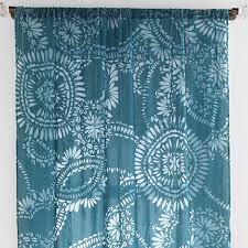 lace medallion velvet burnout curtain everything turquoise