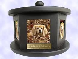 pet cremation urns 6 photo rotating pet cremation urn up to 100 lbs ebay