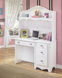 Secretary Desk Hutch by Furniture Cool White Secretary Desk With Hutch And Wooden Floor