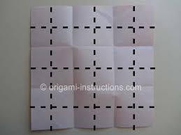 3d Origami Flower Vase Instructions Origami Vase Folding Instructions