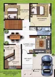 east facing duplex house floor plans homely design 13 duplex house plans for 30x50 site east facing