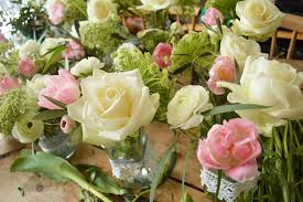 wedding flowers jam jars pangdean barn wedding flowers by bettie brighton