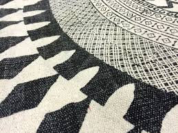 Round Wool Rugs Uk by Rugs Marrakech Round Black Grey White