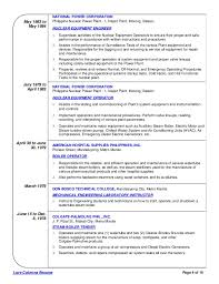 Power Resume Sample by Power Plant Field Operator Resume Contegri Com