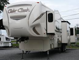 2018 forest river cedar creek silverback 37rl fifth wheel