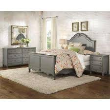 gray bedroom furniture the home depot grey set lacquer bed with