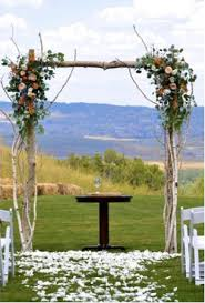 wedding arches for hire cape town wedding arch just add ribbons you could also hang jars with