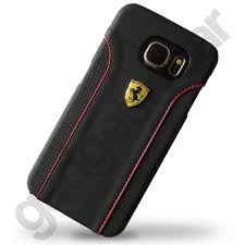 galaxy ferrari ferrari scuderia fiorano rear case for samsung galaxy s6 black