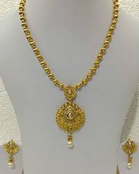 new jewelry south indian traditional jewellery gold tone new design necklace