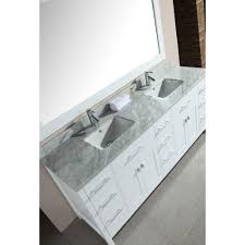 design element london double vanity white design element london double vanity white with marble top and mirror carrara dec the home depot