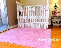 Pink Area Rug For Nursery