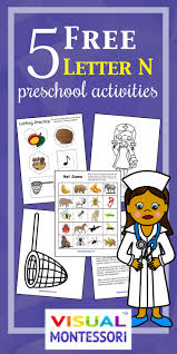 5 free preschool alphabet letter n worksheets happy and blessed home