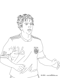 philipp lahm german football player coloring pages hellokids com