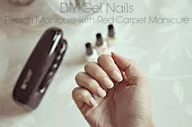 french gel nails at home