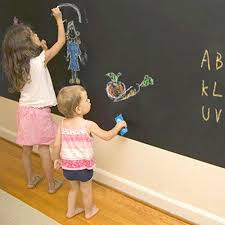 Chalk Board Wall Stickers Wallpaper Diy Blackboard Waterproof Chalkboard Wall Paper Decal