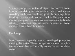 How Does A Pedestal Sump Pump Work How Do Sump Pumps Work