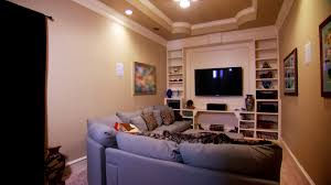 Home Design Plans Video by Updating A Media Room Video Hgtv