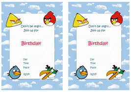free printable angry bird party invitations family guy birthday