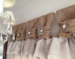 custom made kitchen curtains linen curtains etsy