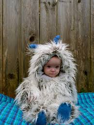 Yeti Halloween Costume Itty Bitty Yeti Kelly Hogaboom