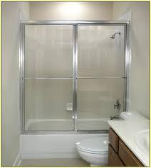 Bypass Shower Door Glass Bypass Shower Doors Home Design Ideas