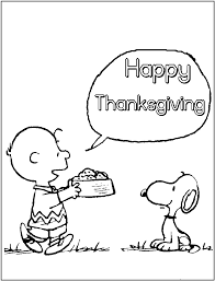 peanuts happy thanksgiving free printable thanksgiving coloring pages for kids