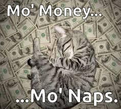Mo Money Meme - mo money mo naps cat meme on we heart it