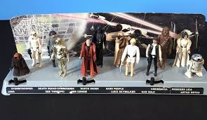 star wars early bird figures with display stand what u0027s it worth
