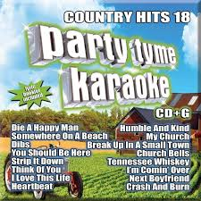 Party Tyme Karaoke Christmas Pack - country hits 18 party tyme karaoke