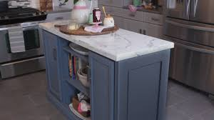 Island Cabinets For Kitchen Kitchen Island Build Youtube