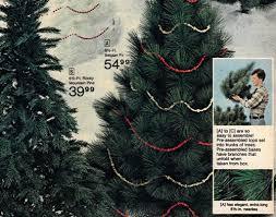 artificial trees a vintage catalog extravaganza