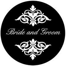 wedding gobo templates wedding gobos personalized gobos sweet sixteen gobos quinceanera