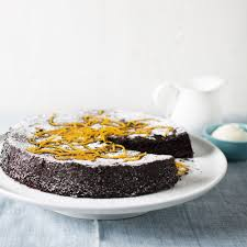 chocolate orange cake woman and home