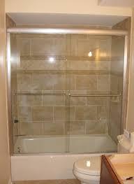 Frameless Slider Shower Doors Gulfside Glass And Mirror Tarpon Springs Florida