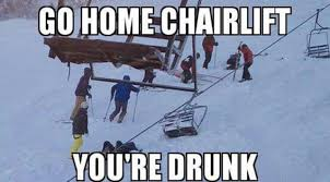 Skiing Meme - what people do at skiing places