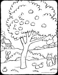 pommier  kiddicoloriage