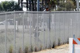 construction starts on models of proposed mexico border wall san