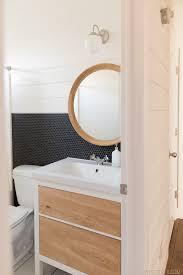 Rock What Ya Got Bathroom Makeover Cabinet Mirror And Lights - Bathroom cabinet vintage 2