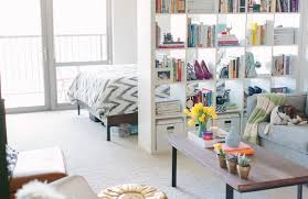 Studio Room Divider 10 Efficiency Apartments That Stand Out For All The Good Reasons