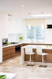 modern kitchen timber veneer home inspriation pinterest