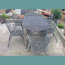 Woodworking Machinery Services Belleville Wi by Casaonline Garden Furniture Gallery Cast Iron Tables Chairs And