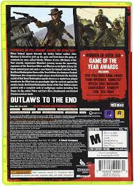 amazon com red dead redemption game of the year edition xbox