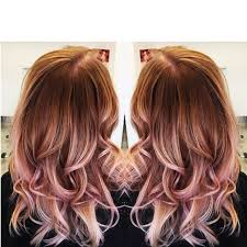 rose gold lowlights on dark hair rose gold hair color red pinterest rose gold and hair coloring