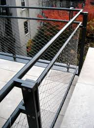 Banister Rails Metal West Village Terrace Railing Caliper Studio Railings