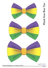 mardi gras bow gras bow ties