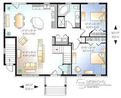 3 bedroom house blueprints one bedroom house design level 3 bedroom house plan with basement